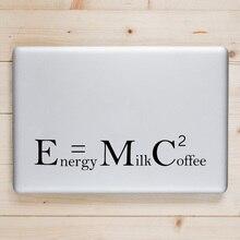 Einstein Humor Formula Laptop Decal for Apple Macbook Sticker Pro Air Retina 11 12 13 15 inch for Xiaomi Mac Surface Book Skin