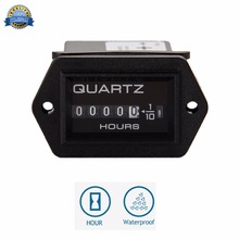 Free Shipping! AC:220-240V Truck Tractor Diesel Outboard Engine farm machinery Hour Meter