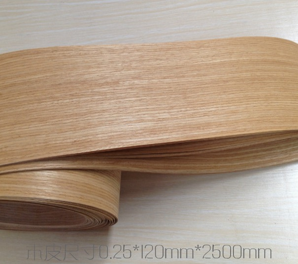 L:2.5Meters/pcs    Wide:120mm Thickness:0.25mm Natural American white oak veneer  speaker manual leather veneer roomble журнальный столик oak veneer