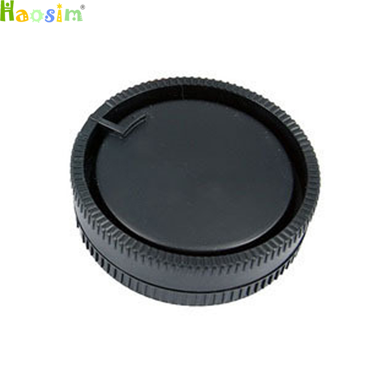 camera Body cap + Rear <font><b>Lens</b></font> Cap for DSLR A Alpha Series <font><b>Sony</b></font> A290 A380 <font><b>A390</b></font> A850 A230 A300 image