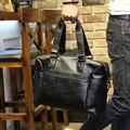 Новый Высокое Качество PU Кожаный Мужской сумка, мужчины Дорожные Сумки С Плеча Ремень, большие Багажные Сумки, мужчины Багаж сумку для Ноутбука