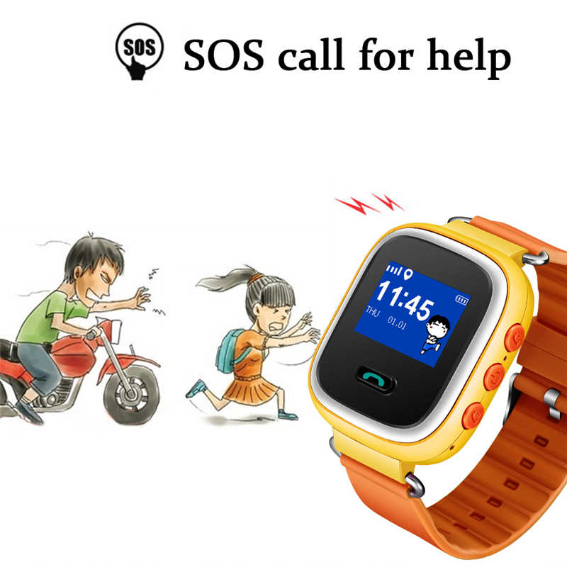2019 New Children's Smart Watch SOS Emergency Call GPS Security Location Tracker Voice Chat Support SIM Card For Android Phones