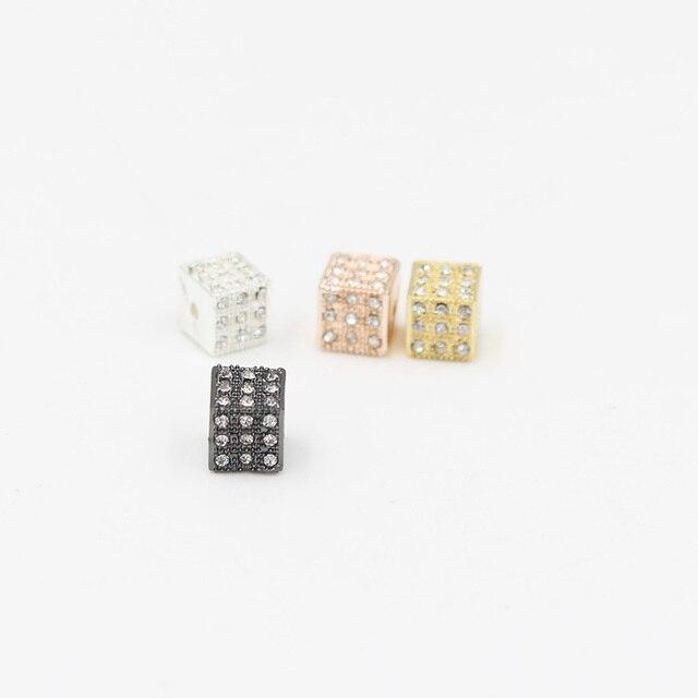Купить nadeem новые 5 шт/компл 4 вида цветов микро проложить cz квадратные