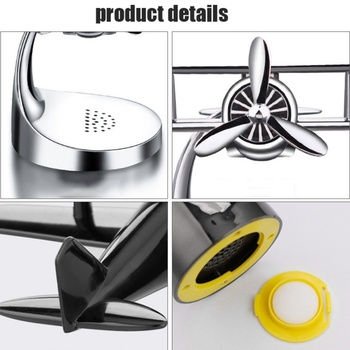 Mini Panneau Solaire | Voiture Chaude Odeur LED Mini Conditionnement évent Sortie Parfum Pince Frais Aromathérapie Parfum Alliage Auto Voiture Accessoires