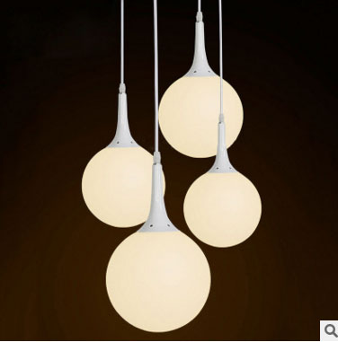 T Circular Acrylic Simple Pendant light Modern Fashion White Lamps For Dining Room Restaurant Bedroom Living Room Shape LED