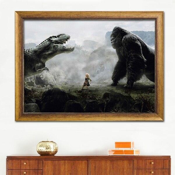 Imagen moderna película de dibujos animados foto gorila animales y ...