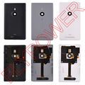 100% Warranty for Nokia Lumia 925 Battery Housing Door Back Cover Replacement By Free Shipping;5PCS/LOT