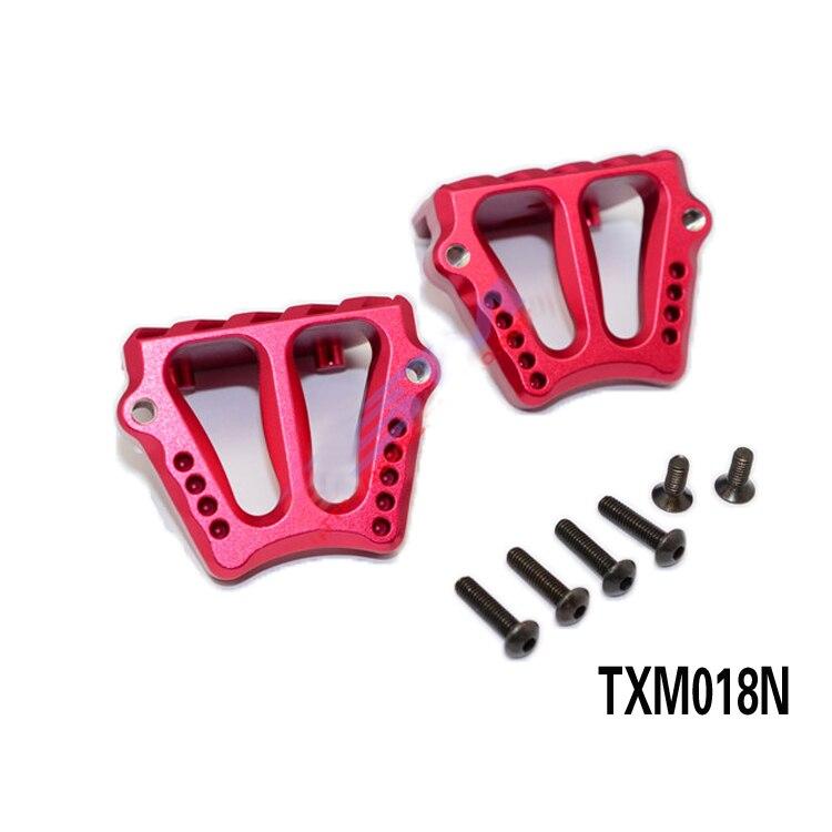 1Set 1/5 X-MAXX support de moteur de camion TXM018N en alliage d'aluminium Mini support de moteur moteurs support fixe pour 1:5 RC voitures pièces modifiées