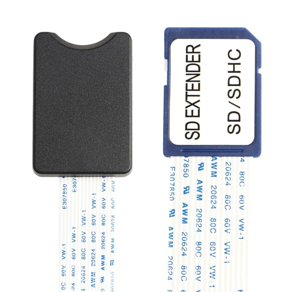 SD SDHC карта SDXC мужчин и женщин SD Гибкая карточка Расширение Кабель-адаптер Extender для ТВ телефон gps автомобильный видеорегистратор Камера 48/60 с…
