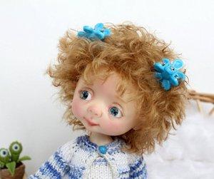 Image 2 - Dollbom genny 1/8 人形 bjd secretdoll とユニセックスボディ樹脂フィギュア yosd ベビーおもちゃ