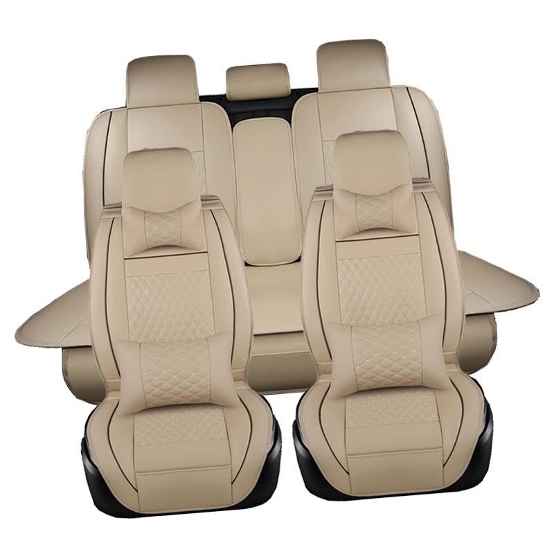 Car seat covers set For Mitsubishi Pajero ASX Outlander LANCER Auto Decoration  Accessories cars-Styling Seat Protector HOT SALE