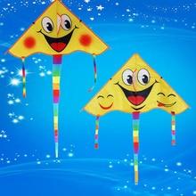 Улыбка Ангел смайлик Спортивная пляжная игрушка дизайн улыбающееся лицо воздушный змей улыбка трюк воздушные змеи Cometa детские игрушки