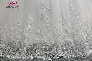 Image 5 - Бальное платье с коротким рукавом, винтажное кружевное платье большого размера с аппликацией W0334
