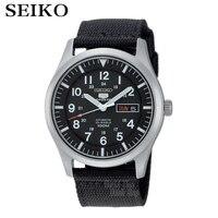 SEIKO Watch Shield No 5 Fashion Army Automatic Mechanical Steel Waterproof Men S Business Table SNZG13J1