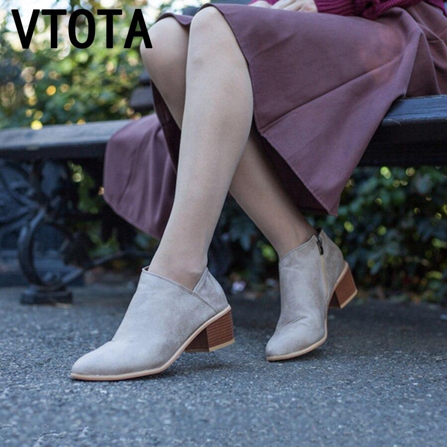 2018 Gris Squred Femme Kqaise 43 Bottines Bottes Chaussures Automne D2EI9H