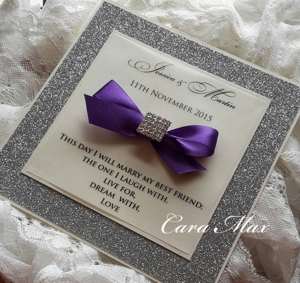 online buy wholesale purple and silver wedding invitations from, Wedding invitations