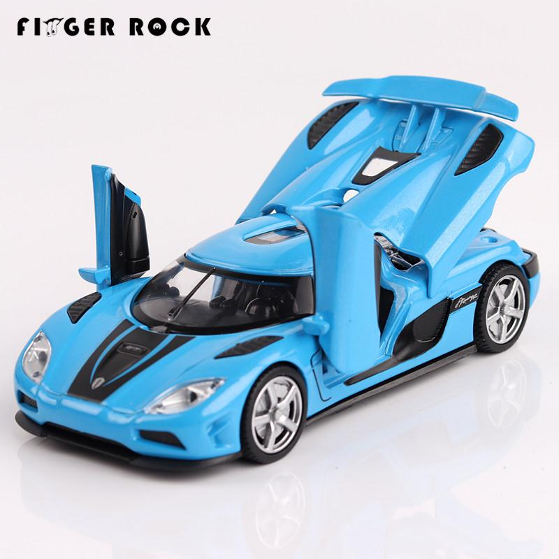 Kownifsegg Sport: Four Color Koenigsegg Sport Car Model 1:32 Diecast Metal