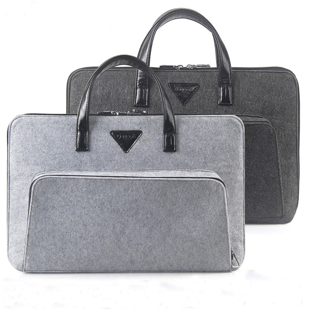 Fashion 11 12 13 15 Inch Notebook Computer Laptop Bag For Men Women Briefcase