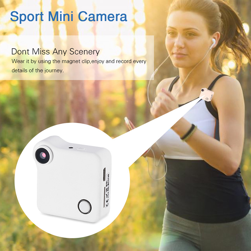 720P HD Mini Wearable Sport Camera Super Small portable Video recorder Wifi DVR P2P Mini DV DVR Magnetic Clip Voice Recorder portable smallest 720p hd webcam super mini video camera 640 480 480p dv dvr recorder camcorder 720p jpg photo