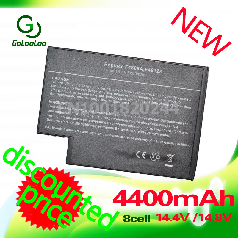 Golooloo 4400mAH Battery for hp DB946A 319411-001 361742-001 4200 4300 F4809A 4400 4500 4600