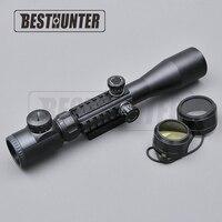 Airsoft Sniper Rifle AR15 AR10 223 308 Hunting Riflescope 3 9x40 Optical Illuminated Sight Aiming Device