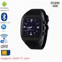 IMacwear M7 Reloj Teléfono Inteligente Android 4.4 GPS Bluetooth 3.0 3G GSM Tarjeta SIM MTK6572 Dual Core 1.0 GHz IP67 A Prueba de agua SmartWatch