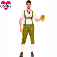 Hot German Bavarian Beer Festival Cosplay Costume Men Sexy Costumes For Adults Plus Size Oktoberfest Outfit