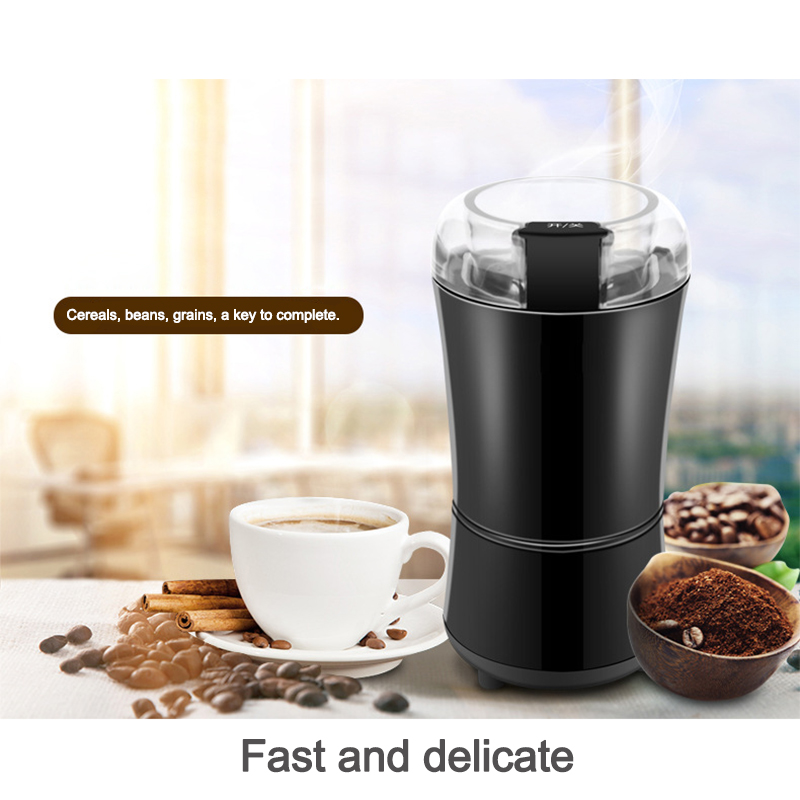 Electric coffee beans grinding machine ultra - fine grinder home small Chinese herbal medicine crusher grains grains milling