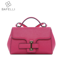 bbc20cdabc BAFELLI women leather handbags high capacity pillow shoulder crossbody bag  blue black rose bolsa feminina women