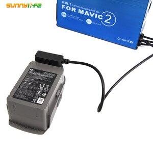 Image 5 - 6 IN 1 Telecomando Caricabatterie A Casa con USB Super Stazione di Ricarica Della Batteria Charger Hub per DJI MAVIC 2 PRO & ZOOM Drone