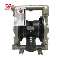 304 Corrosion resistant Stainless Steel Double Diaphragm Pump Air Driven Diaphragm Pump BML 25S