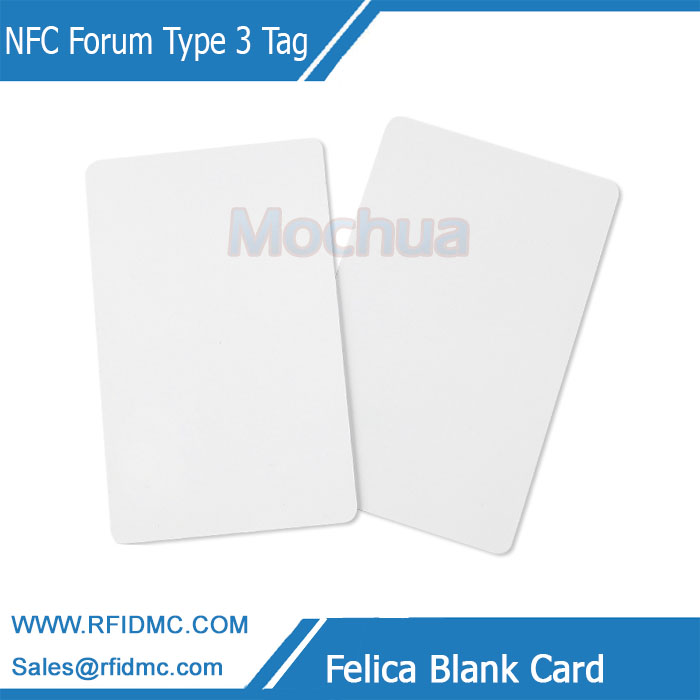 13.56MHz Felica Lite-S RC-S966 NFC Forum Type 3 Tag NFC Card