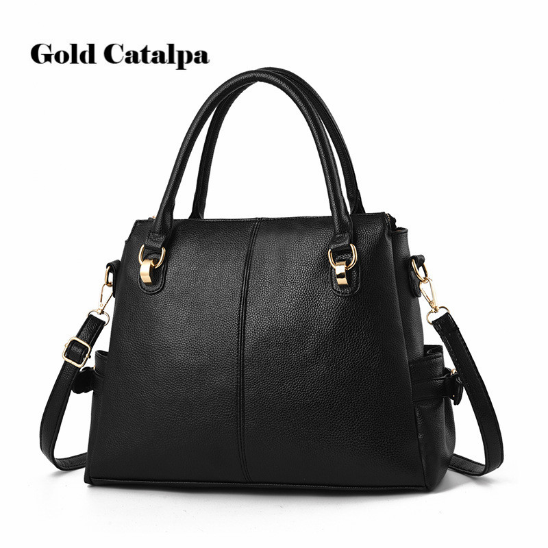2018 Fashion 5 Colors Simple Design Hobos Women Bag Ladies PU Leather Handbags Spring Casual Tote Bag Big Shoulder Bag For Woman mliizykki lace flower handbags women shoulder bag spring casual hobos tote