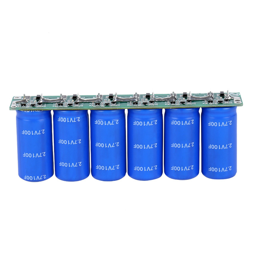 CNIKESIN 6 Series 2.7V 100F Automotive Rectifier Super Capacitor Module Enhance the Power Dedicated Capacitor Audio Capacitor