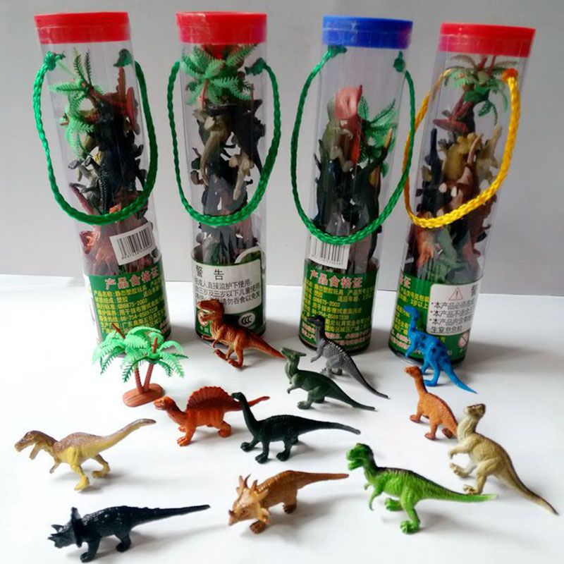 12pcs/lot Dinosaur Toy Set PVC Dinosaur Model Action