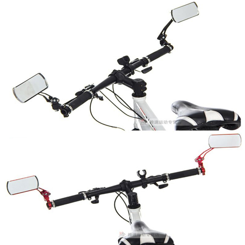 Rearview Mirror Glass for Xiaomi Mijia M365 Electric Scooter Qicycle EF1 Bike Back Rear Sight Reflector Angle Adjustable Mirror