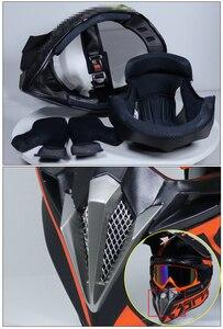 Image 5 - Yeni tasarım motosiklet koruyucu dişliler kir bisiklet yarışı Motocross kaskları kros motosiklet kask motokros