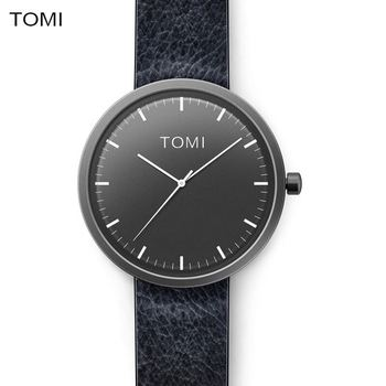 New ultra thin watch for male female 1