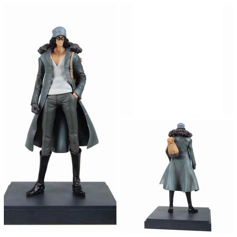 <font><b>One</b></font> <font><b>Piece</b></font> Anime Navy Senior General Aokiji Kuzan <font><b>Ichiban</b></font> <font><b>Kuji</b></font> Prize A ver. 23cm PVC Action Figure Model Doll Toys image