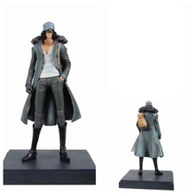 One Piece Anime Navy Senior General Aokiji Kuzan Ichiban Kuji Prize A ver. 23cm PVC Action Figure Model Doll Toys 9 inch date a live nightmare tokisaki kurumi two gun ver boxed 23cm pvc anime action figure collection model doll toys gift