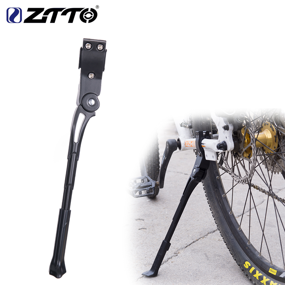 ZTTO Adjustable Bicycle Kickstand 26 27.5 29 Road 700c Bike Parking Kick Stand lightweight Mountain Bike Cycle Side Support Rack