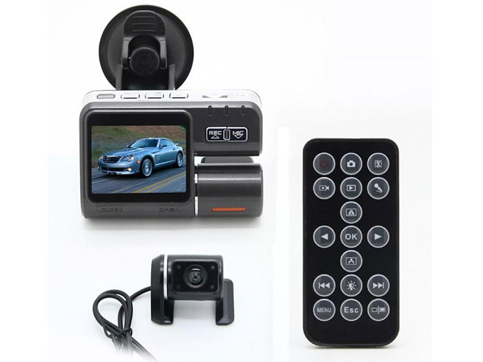 2.0 I1000 Dual Camera Car DVR video recorder Full HD 1080P Dash Cam Black Box i1000 car Vehicle View Car Recorder