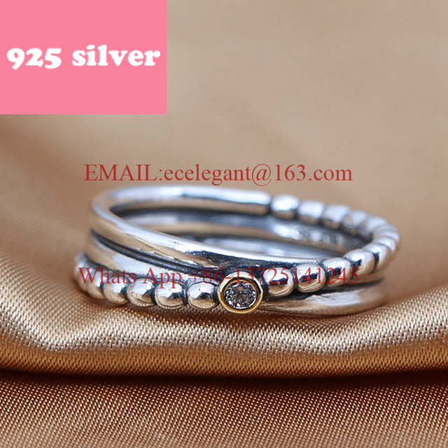 PJR049 FreeShipping 925 silver ring . simple ring with stone luxury jewelry. rings for woman charmming birthday gift