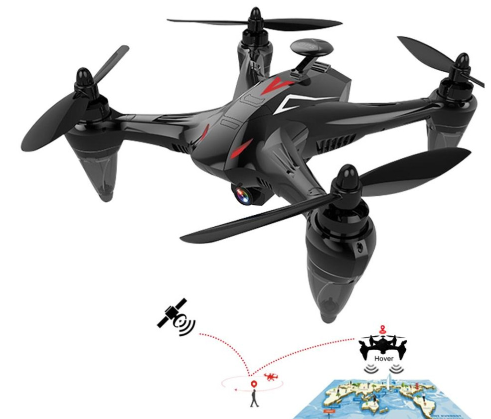 GW198 Professional RC Helicopter with WIFI   HD Camera GPS Brushless Quadrocopter Drone Gift Toy remote control drone H501S, B3
