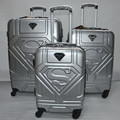 Superman Luggage,Multiwheel Suitcase with password Lock,ABS hard shell luxury Travel Box,Strong Carry-Ons,Trolley Carrier