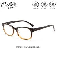 CALIFIT Vintage Original Degree Glasses Women Design Prescription Astigmatism Spectacles Graduated 1.56 Photochromic Glasses New