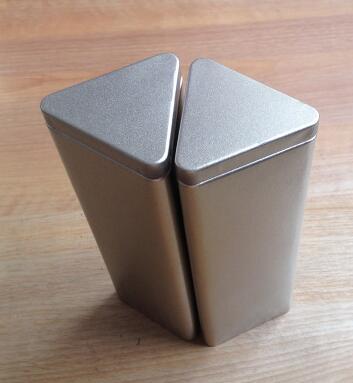 Captivating 6.5*6.5*19.4cm Silver Large Capacity Tea Tin Box/candy Storage Box