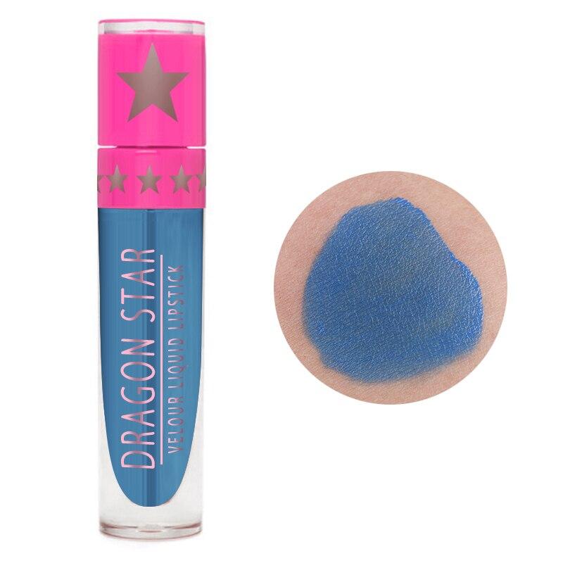 Жидкая металлическая губная помада, водостойкая, блестящая, сексуальная, красная, синяя, для губ, оттенок, блеск для губ, Обнаженная, долговечная, антипригарная чашка, блеск для губ TSLM1 - Цвет: 08