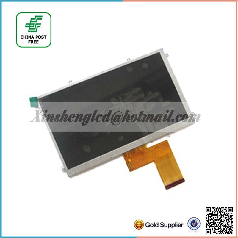 NEW 7inch 50pin kr070pe7t FPC3-WV70021AV0 LCD Screen Display for Freelander pd10 pd20 Tablet PC