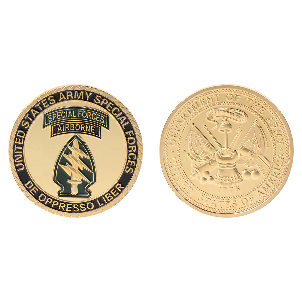 2018 Meaningful Commemorative Coin Special Forces US America Army Collection Arts Gifts Souvenir image